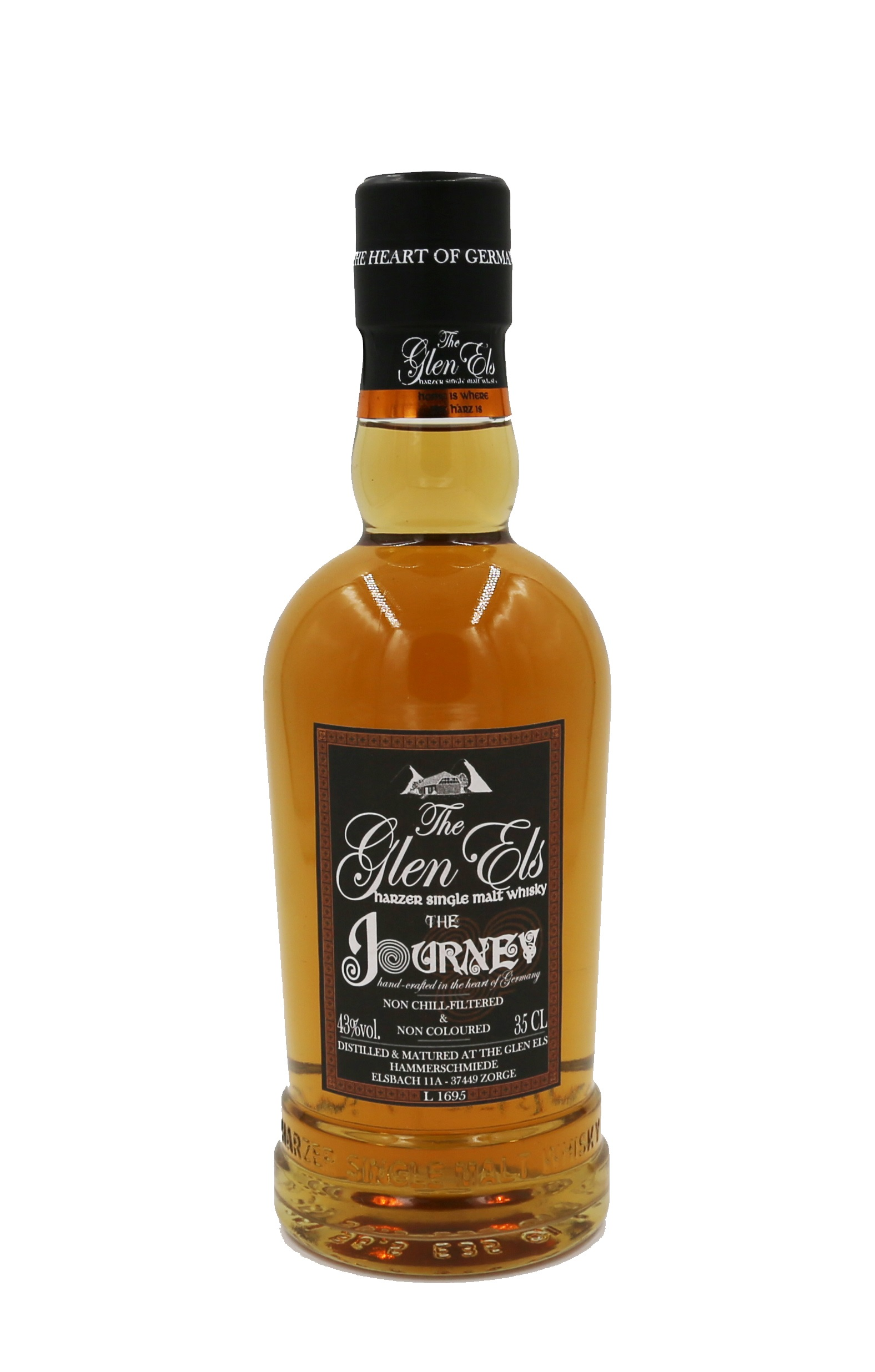 Glen Els Journey Harzer Single Malt 43,0% vol. - 0,7 Liter