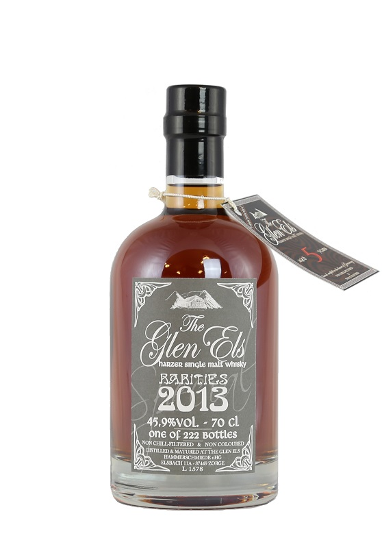 Glen Els X - 10 Jahre Harzer Single Malt Whisky - 49,6% vol. - 0,7 ...